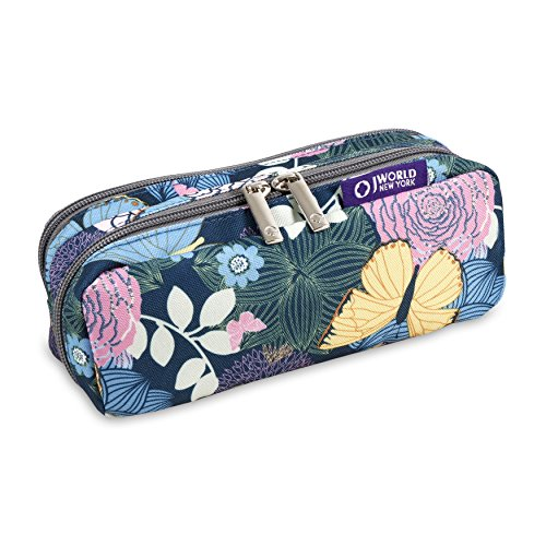J World New York Girls' Jojo 01 Pencil Case, Secret Garden