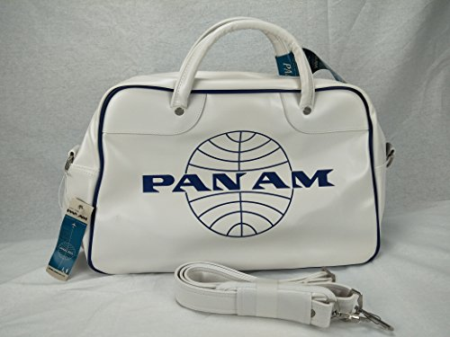 Pan Am Origianl Men's Retro Orion Travel Vintage Flight Cabinet Duffle Bag