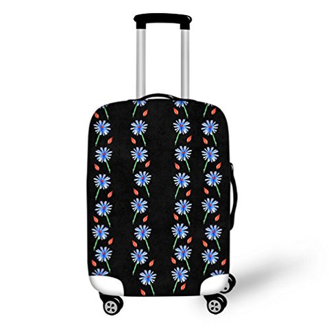 Luggage Protector Suitcase Cover 18-32 Inch with Beautiful Design Printing