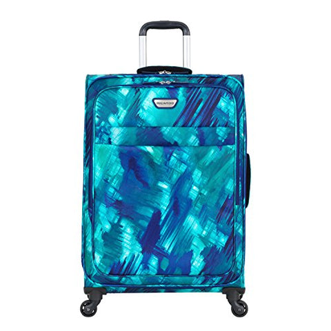 "Ricardo Beverly Hills Luggage Sea Cliff 21"" Carry-On Suitcase, Watercolor Blue"