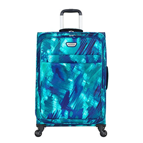 "Ricardo Beverly Hills Luggage Sea Cliff 29"" Spinner Upright Suitcase, Watercolor Blue"