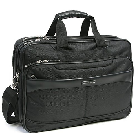 Perry Ellis Laptop Tablet Business Briefcase