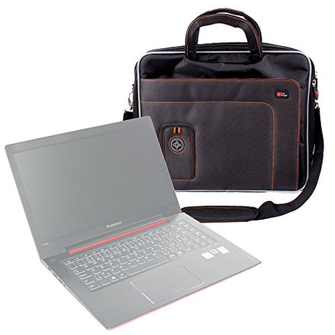 "DURAGADGET ""Travel Deluxe Lightweight & Tough Protective Laptop Briefcase Carry Case with Padded"