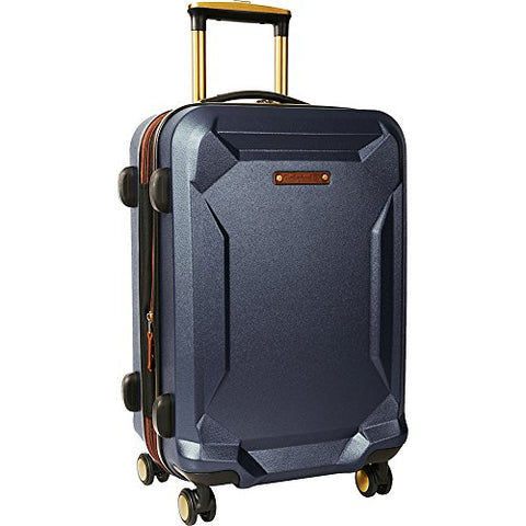 "Timberland Fort Stark 21"" Expandable Hardside Carry-On Spinner Luggage (Navy)"