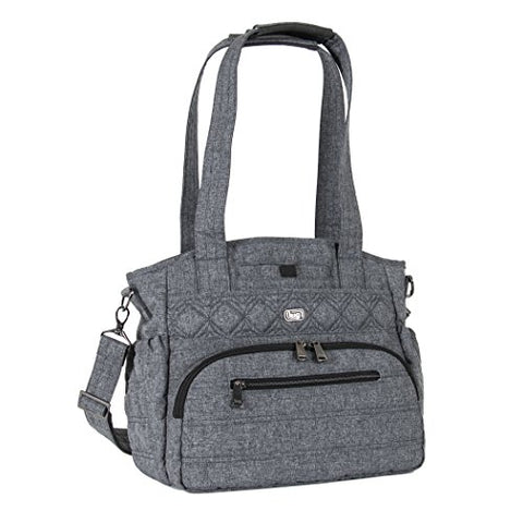 Lug Women'S Windjammer Everyday Travel Tote, Heather Grey, One Size