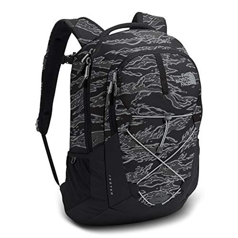 "The North Face Jester Laptop Backpack - 15"" (TNF Black Tiger Camo Print/High, Black Tiger Camo/Grey, One Size"