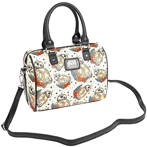Loungefly Star Wars BB8 Tattoo All Over Print Duffle Ba