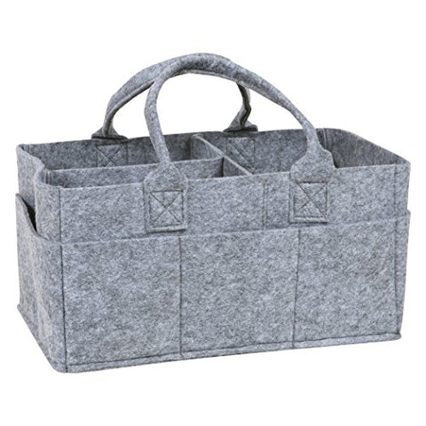 Sammy & Lou Felt Storage Caddy, Gray