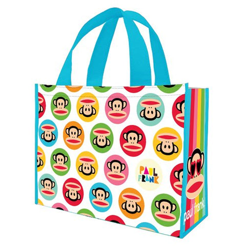 Vandor 46073 Paul Frank Large Recycled Shopper Tote, Multicolor