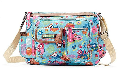 Lily Bloom Women's Libby Hobo Crossbody Bag, Owls Always Love You