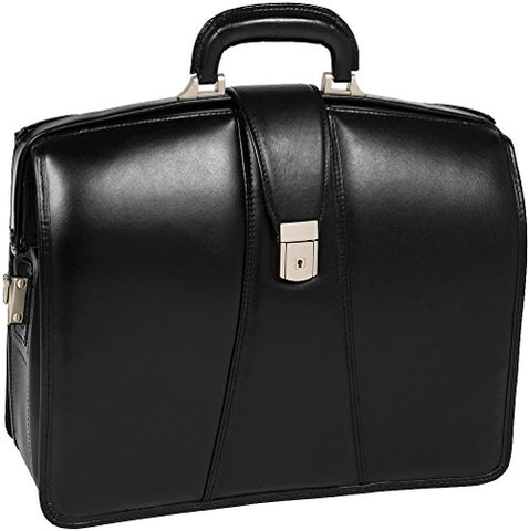 "McKlein USA HARRISON V series 17"" Partners Laptop Lawyers Briefcase in Black"