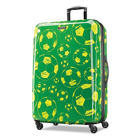 American Tourister Moonlight Spinner 28, Green/Yellow