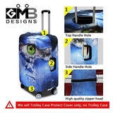 CrazyTravel Dirtyproof Trip Bag Case Protective Covers Number Print For 18-30 Inch Luggage