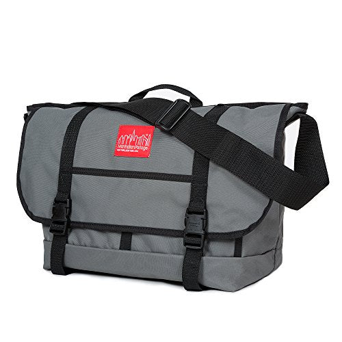 Manhattan Portage Downtown Ny Messenger Bag (Lg) (Grey)