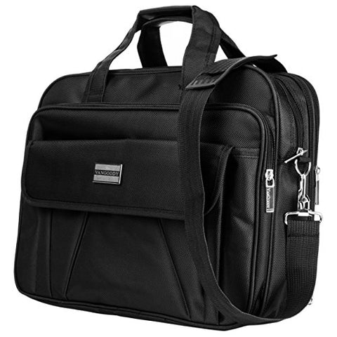 Vangoddy Oxford Briefcase Bag With Removable Shoulder Strap And Expandable Compartment For Up To