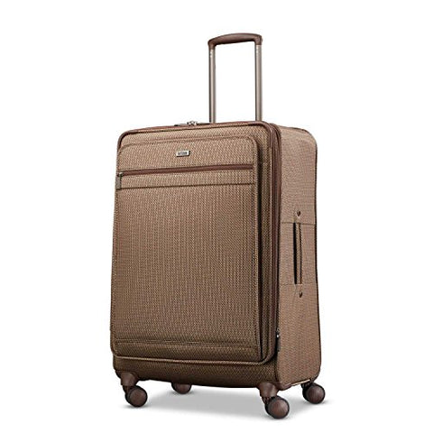 Hartmann Medium Journey Expandable Spinner Ss, Mocha Monogram
