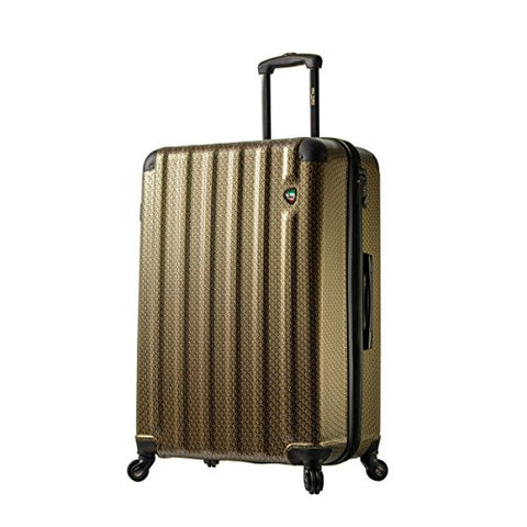 "Mia Toro Italy Catena Largo Hardside 29"" Spinner, Gold"
