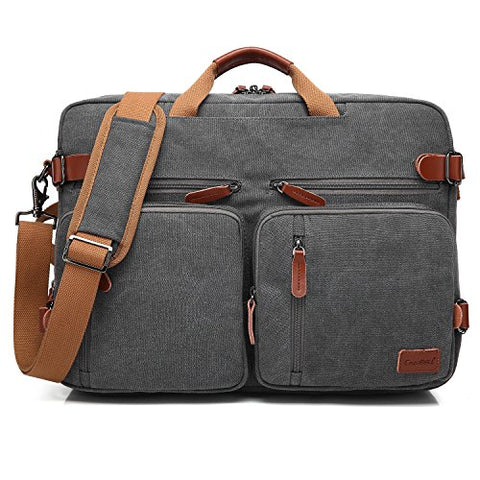CoolBELL Convertible Backpack Messenger Bag Shoulder Bag Laptop Case Handbag Business Briefcase