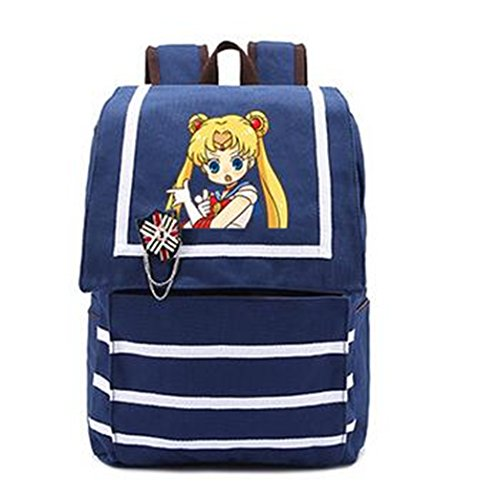YOYOSHome Sailor Moon Anime Tsukino Usagi Cosplay Shoulder Bag Backpack School Bag (9)