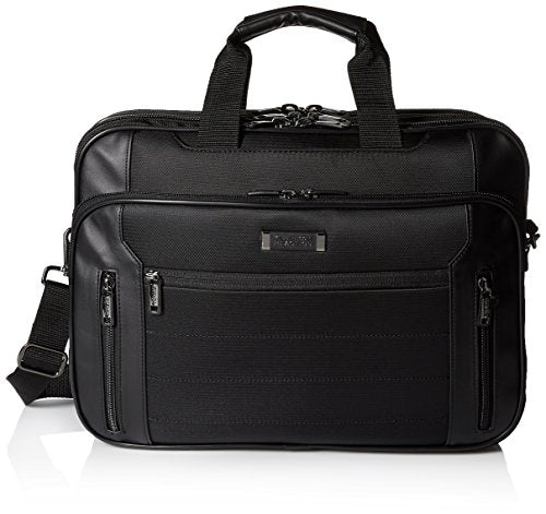 Kenneth Cole Reaction Keystone Top Zip Computer Case, Black