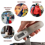 Tarriss Jetsetter Digital Luggage Scale W/ 110 Lb Capacity (Eggshell)