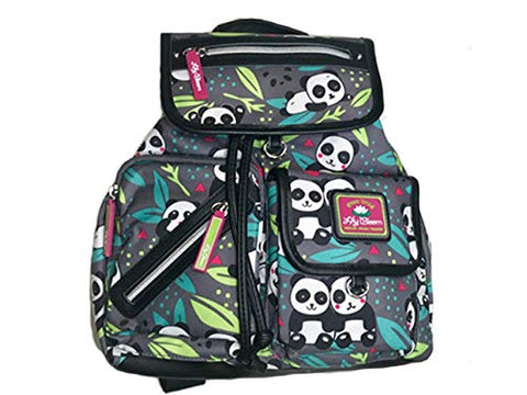 Lily Bloom Riley Multi-Purpose Backpack (PANDA POP)