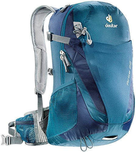 Deuter Airlite 22 - Ultralight Day Hiking Backpack, Arctic/Navy