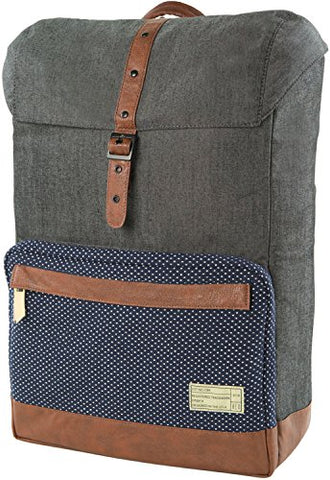 HEX Coast Laptop Backpack (Denim/Dot - HX1841-DNDT)