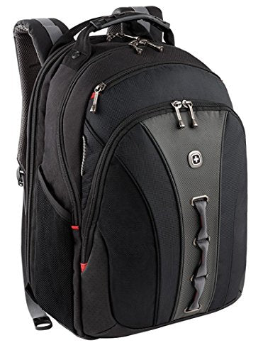 "Wenger The Legacy Notebook Carrying Backpack, 16"", Black/Gray (Wa-7329-14F00)"