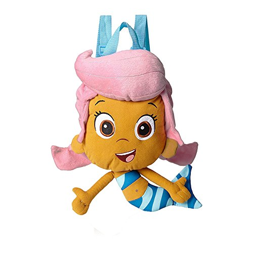 Accessory Innovations Little Girls' Bubble Guppies Molly Plush Backpack, Multi, One Size by Nickelodeon