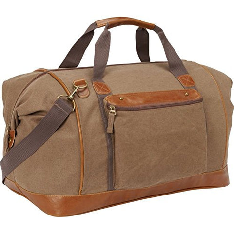 Bellino Tahoe Canvas Duffle, Tan