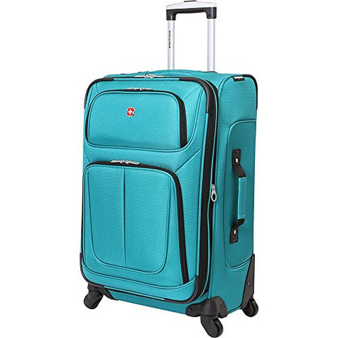 "Swissgear 25"" Spinner 6283,Teal,Us"