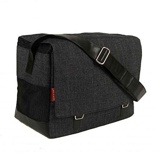 Bark-N-Bag Outback Messenger Collection Organic Denim Pet Carrier