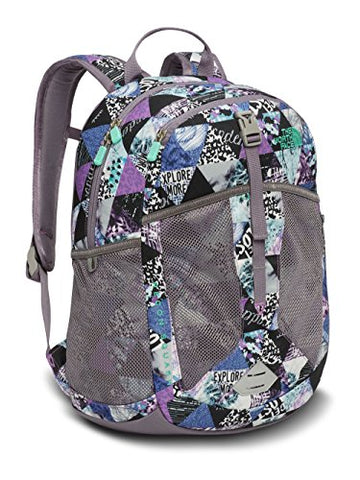 The North Face Unisex Recon Squash (Youth) Bellflower Purple Tringle Print/Bermuda Green One Size