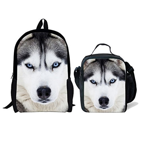 Freewander Casual Schoolbag Creative Personalized Animal Printed School Backpack (Set-3)
