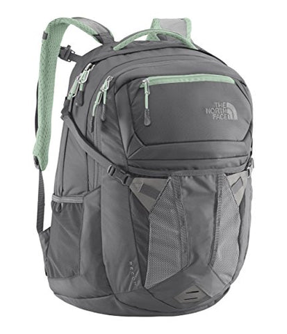 "The North Face Women's Recon Laptop Backpack 15""- Sale Colors (Zinc Grey/Surf"