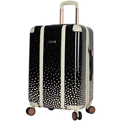 "BCBGeneration BCBG Luggage Hardside Midsize 24"" Suitcase with Spinner Wheels (24in, Flowing Bloom)"