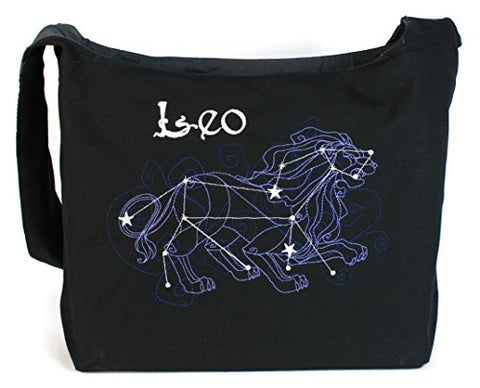 Dancing Participle Leo Embroidered Sling Bag