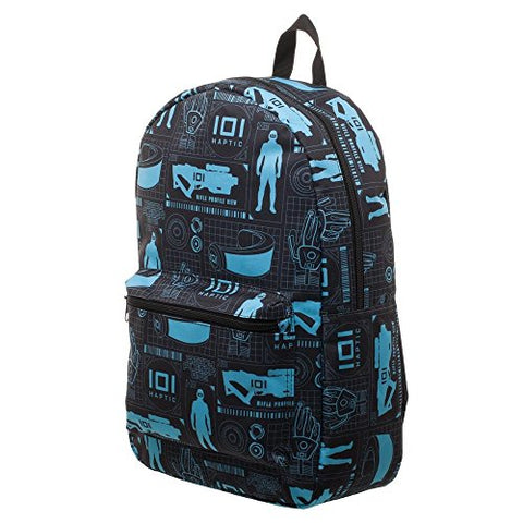 Bioworld Ready Player One Ioi Grid Sublimated Backpack
