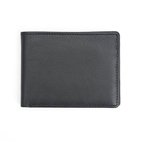 Royce Leather RFID Blocking American Genuine Leather Bifold Wallet for Identi...