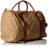 Buxton Men's Expedition Ii Huntington Gear Canvas Convertible Duffel, Tan