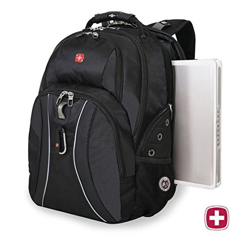 "Swissgear Laptop Notebook Mac Book Ipad Swiss Gear Swissgear 17"" Inch Outdoor Scansmart Backpack"