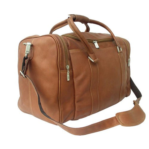 Piel Leather Classic Weekend Carry-On, Saddle, One Size