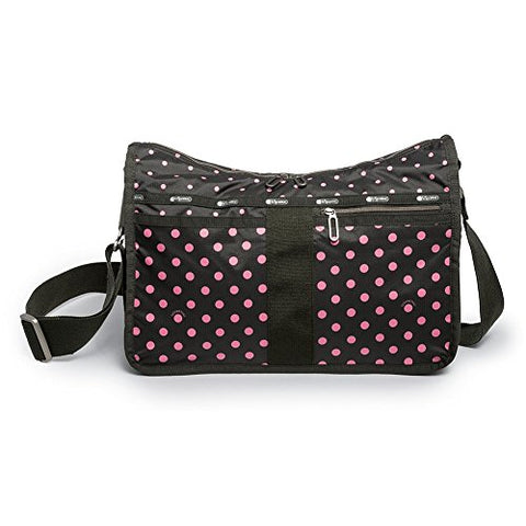 Lesportsac Essential Everyday Bag (Pink/Black)