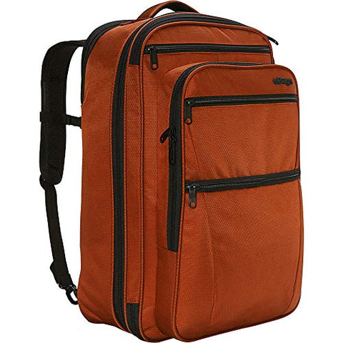 "ebags etech 3.0 Carry-On Travel Backpack With Expandable Sides - Fits 17"" Laptop - (Burnt Orange)"