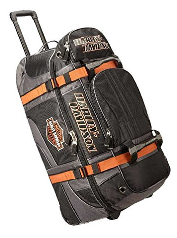 "Harley-Davidson Bar & Shield Logo 33"" XLG Wheeling Duffel Bag 99410-BLACK"
