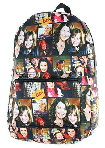 Lukes Diner Gilmore Girls Backpack (Photo Collage)