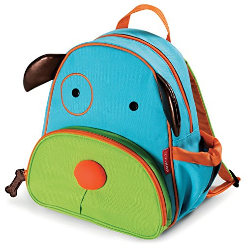 "Skip Hop Toddler Backpack, 12"" Dog School Bag, Multi"