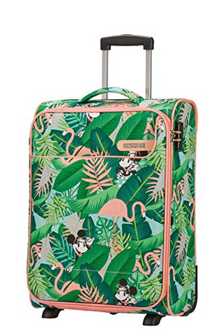 American Tourister Funshine Disney Hand Luggage, 55 cm, 39 liters, Multicolour (Minnie Miami Palms)