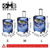 CrazyTravel Men Women Teens Trolley Case Luggage Protector Cover 18-30 Inch